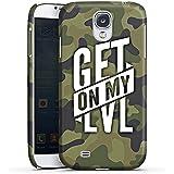 Samsung Galaxy S4 Hülle Premium Case Schutz Cover Montanablack Fanartikel Merchandise Get On My Level Camo
