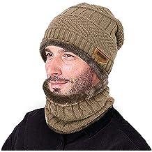f6af7793d5d03 Amazon.es  gorros lana hombre - Beige
