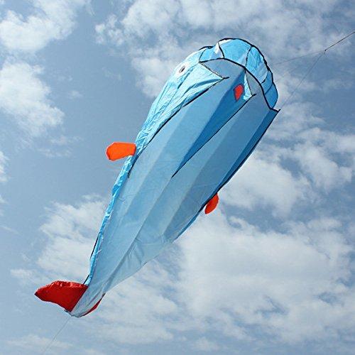 Bazaar Aquiloni di intrattenimento all'aperto 3d enorme parafoil gigante delfino blu aquiloni