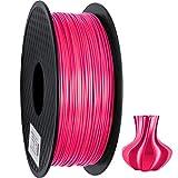 GEEETECH PLA Filamentos 1,75 mm Seda Rosa, impresora 3D impresora Filamento PLA 1KG Carrete