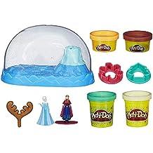 Hasbro – Play-Doh – Disney – Frozen – Globo de Nieve Brillante