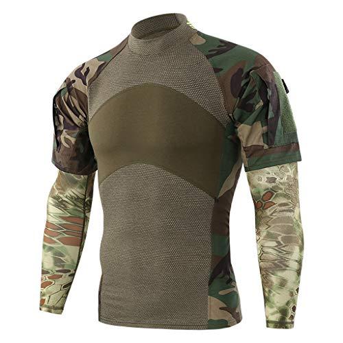 Kostüm Superhelden Neue - Shirt im Superheld-Kostüm für Fitnessstudio/Radsport, Compression Baselayer T-Shirt mit kurzen Armen für Herren