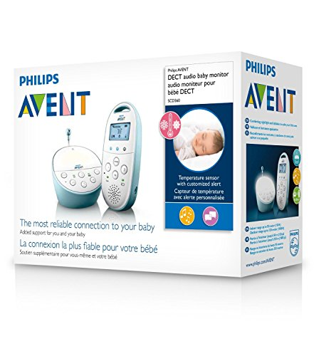 Philips AVENT Audio Monitors DECT Baby Monitor SCD560/01