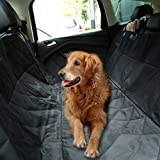 Homdox Waterproof Non-slip Padded Dog Seat Covers for Cars Trucks and SUVs Cozy Pet Seat Cover