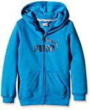 PUMA Jungen Jacke ESS Large Logo Hooded Sweat Jacket, Fleece, B