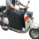 ALISTAR Coprigambe termici Coprigambe per motocicletta, Coprigambe per motocicletta Coperta universale per scooter Protezione universale dalla pioggia
