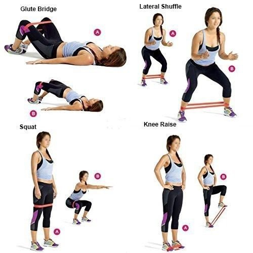 Resistance Loop Bands – Exercise Bands