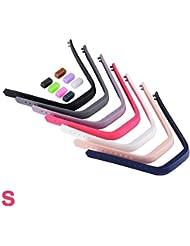 XCSOURCE® 7stk Buntes Wiedereinbau Armband mit Metall verschlüsse für Fitbit Flex 2 (Kleine Größe) TH581