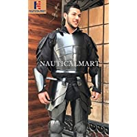 nautique Mart médiéval Knight Armour Chasse, Pauldrons, Arm Guard, Greaves Wearable Halloween