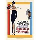 Audrey Hepburn - Breakfast At Tiffany's One-sheet Tarjeta Postal (15 x 10cm)