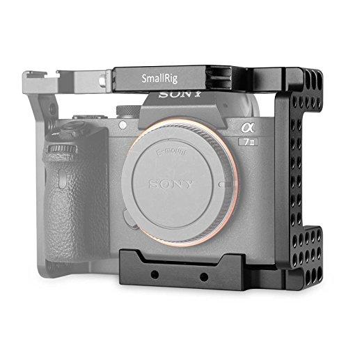 SMALLRIG® Kamera Cage für SONY A7II / A7RII / A7SII / ILCE-7M2 / ILCE-7RM2 / ILCE-7SM2 --- 1673 K1m Usb