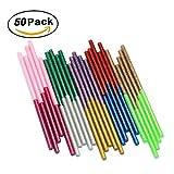 rosenice 50chevilles Glitter Colle Bâtons de colle, 10couleurs chaud Mini fusible Colle Sticks pour DIY Artisanat