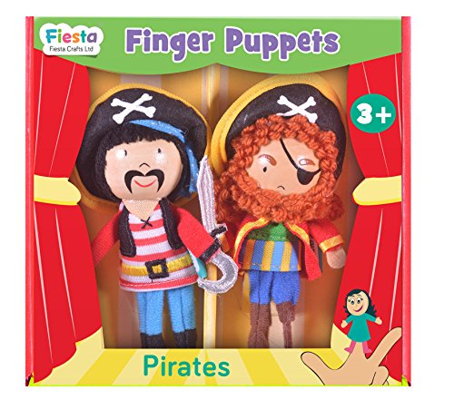 Piratas de dedo Puppet Set