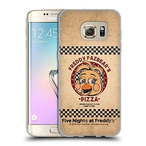 Official Five Nights At Freddy's Toy Chica Freddy Fazbear's Pizza Soft Gel Case for Samsung Galaxy S7 edge