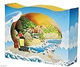 4D pop-up box carta zaino in spalla viaggio vacanza compleanno anniversario di matrimonio festa della mamma San Valentino vacanza mare spiaggia montagna fidanzata