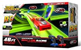 Max Traxxx Tracer Racers Dual Lane Infinity Loop R/C 46 ft Race Track Set