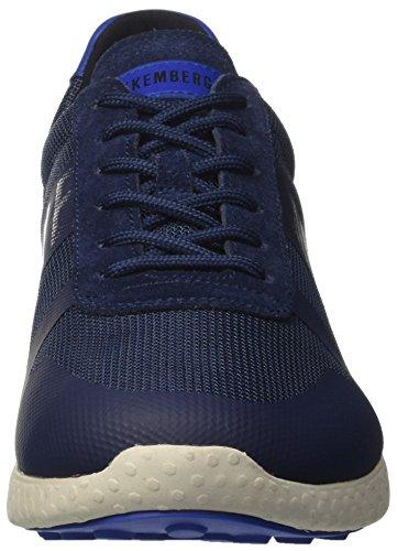 Bikkembergs Strik-ER 925, Sneakers Basses Homme Blu (Navy)