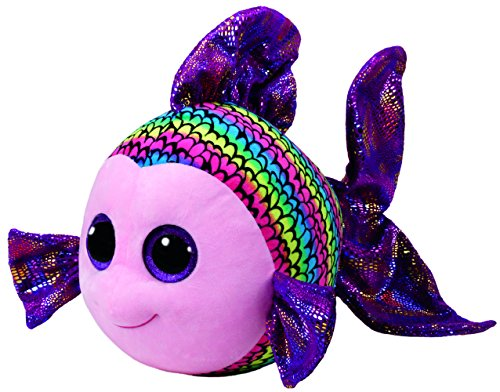 "Beanie Boo Fish - Flippy - Multicoloured - 42cm 16"""
