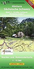 Hintere Sächsische Schweiz - Blatt 2: Großer Zschand, Hinterhermsdorf 1 : 15 000 GPS-fähig, wetterfest, reißfest
