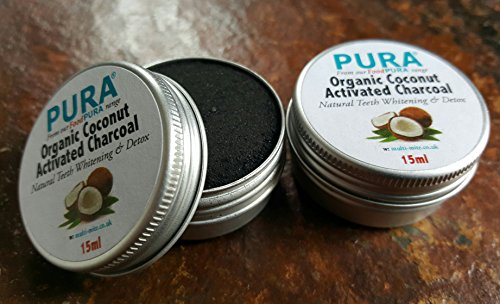 purar-fine-coconut-activated-charcoal-powder-20ml-twin-pack-organic-teeth-whitening-detox