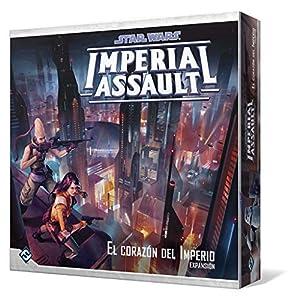 Fantasy Flight Games- Star Wars - Imperial Assault: el corazón del Imperio - Español, Color FFSWI46