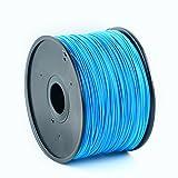 PLA 1.75mm Hochpräzise 3D-Druck-Filament (5 Meter) 30+ Exakte Farben 3D Stifte / Drucker Verbrauchsmaterialien (Königsblau)