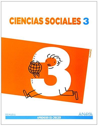 Ciencias Sociales 3 (Madrid). (Aprender es crecer) - 9788467848069