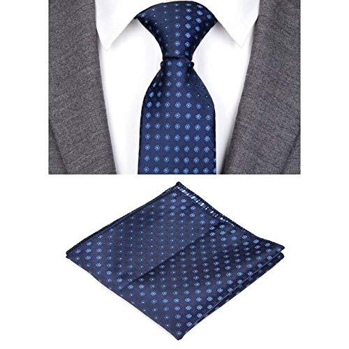WOXHY Krawatte Krawatten Für Männer Design Plaid Gestreifte Fliege Set Jacquard Gewebt Herren Krawatte Shirt Zubehör Hochzeit -