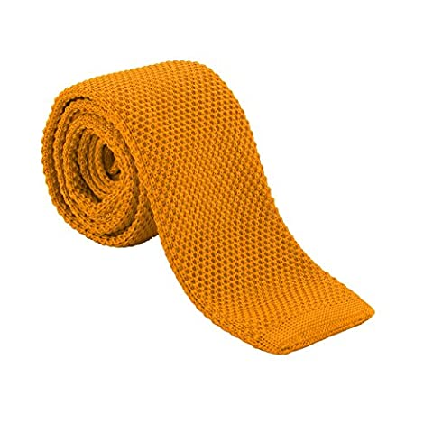MultiWare Men's Fashion Tie Knit Knitted Tie Slim Skinny Woven