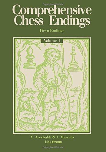 Comprehensive Chess Endings Volume 4 Pawn Endings por Yuri Averbakh