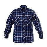 LAHTI PRO L4180206 Herren Thermohemd Holzfällerhemd Arbeitshemd-CE-EN ISO 13688, Größe: 3XL/60, Blau