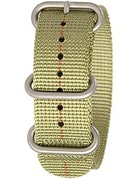 Bertucci B-180DX3Hombres de la Patrulla verde/rojo Dash nailon reloj inteligente banda