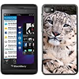 FJCases Leopardo Animal Carcasa Funda Rigida para Blackberry Z10