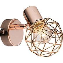 Impresionante de 1Luces, lámpara de pared Lámpara Globo de cobre Escalera xara 54805–1