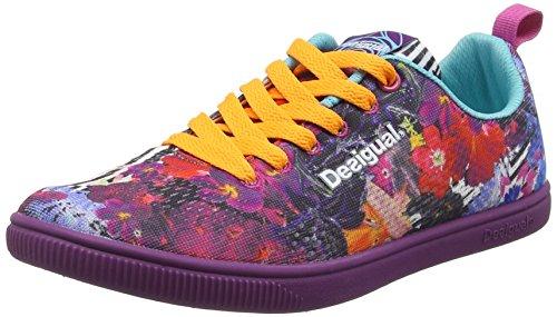 Desigual Shoes_Candem A, Scarpe Sportive Indoor Donna, Viola (FLOX3125), 36 EU