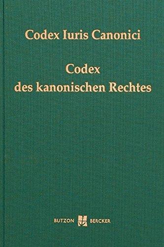 Codex Iuris Canonici: Codex des kanonischen Rechtes