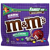 Best M & M's Chocolate Desserts - M&M's Dark Chocolate Candies Family Size 19.2 oz Review