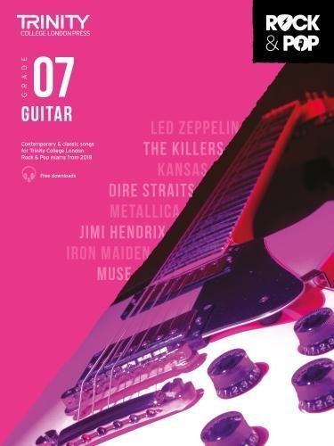 Trinity College London Rock & Pop 2018 Guitar Grade 7 CD Only (Trinity Rock & Pop) por Trinity College Lond