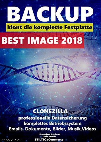 Backup Best Image 2018- Datensicherung, klont ganze Rechnersysteme , für Windows 10, 8.1, 8, 7 Vista und XP