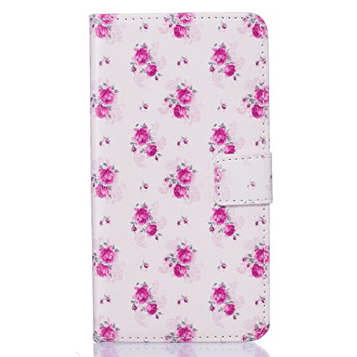 Cuir Coque pour iPhone 7,Portefeuille PU Cuir Etui Coque pour iPhone 7,Fleur Etui Coque pour iPhone 7,Fille Coque pour iPhone 7,EMAXELERS iPhone 7 Leather Case Wallet Flip Protective Cover Housse,iPho G Butterfly 2