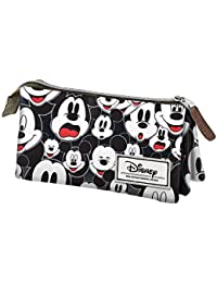 Karactermania Disney Classic Mickey Visages Estuches, 24 cm,  Negro