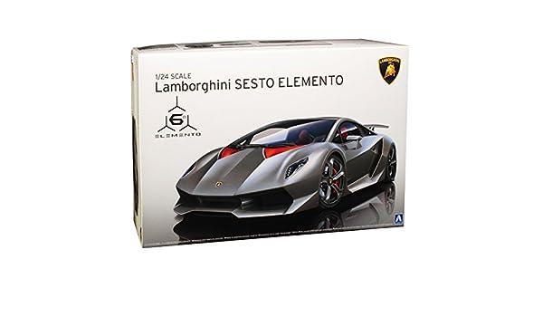 Lamborghini Sesto Elemento 1:24 Model Kit Bausatz Aoshima 010730
