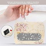 Aspiratore Professionale Da Tavolo Per Unghie Manicure, Collettore di polveri per unghie, 3 Fans Aspirapolvere Strumento Nail art Solon, 100-240V(A)