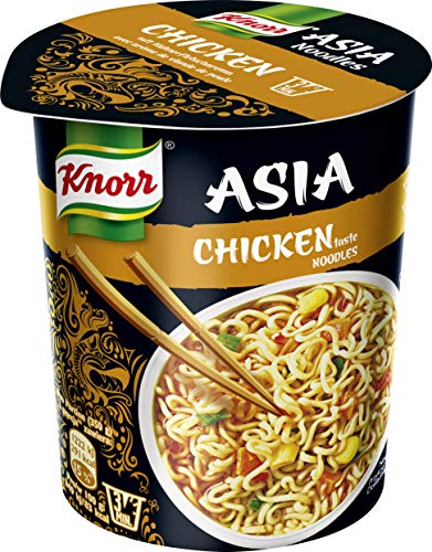 Knorr Asia Snack Chicken Noodles 1 Portion (8 x 65 g)