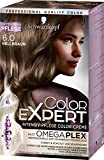 Schwarzkopf Color Expert Intensiv-Pflege Color-Creme 6.0 Hellbraun, 3er Pack (3 x 167 ml)