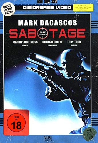 Sabotage - Limited Mediabook VHS Edition/Uncut (+ DVD: Sabotage) (+ Bonus: Men of War DVD und Blu-ray)