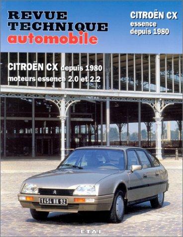 Citroën CX depuis 1980, moteurs à essence 2.0 et 2.2