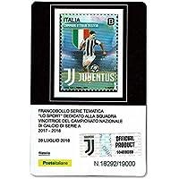LaVecchiaScatola Juventus Campione 2017 2018 Tessera Filatelica da  Collezione - Tiratura Limitata 441252071d91
