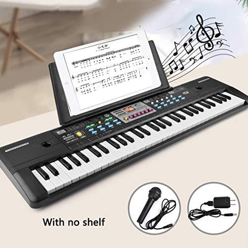 Sliwei 37 teclas Micrófono Teclado Juguetes musicales para niños Educación temprana Pianos y teclados