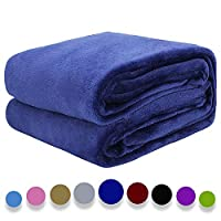 Arkham Fluffy Thick Blanket Warm Bed Throws for Sofa,Exquisite Comfortable Plum Pattern Blanket ...